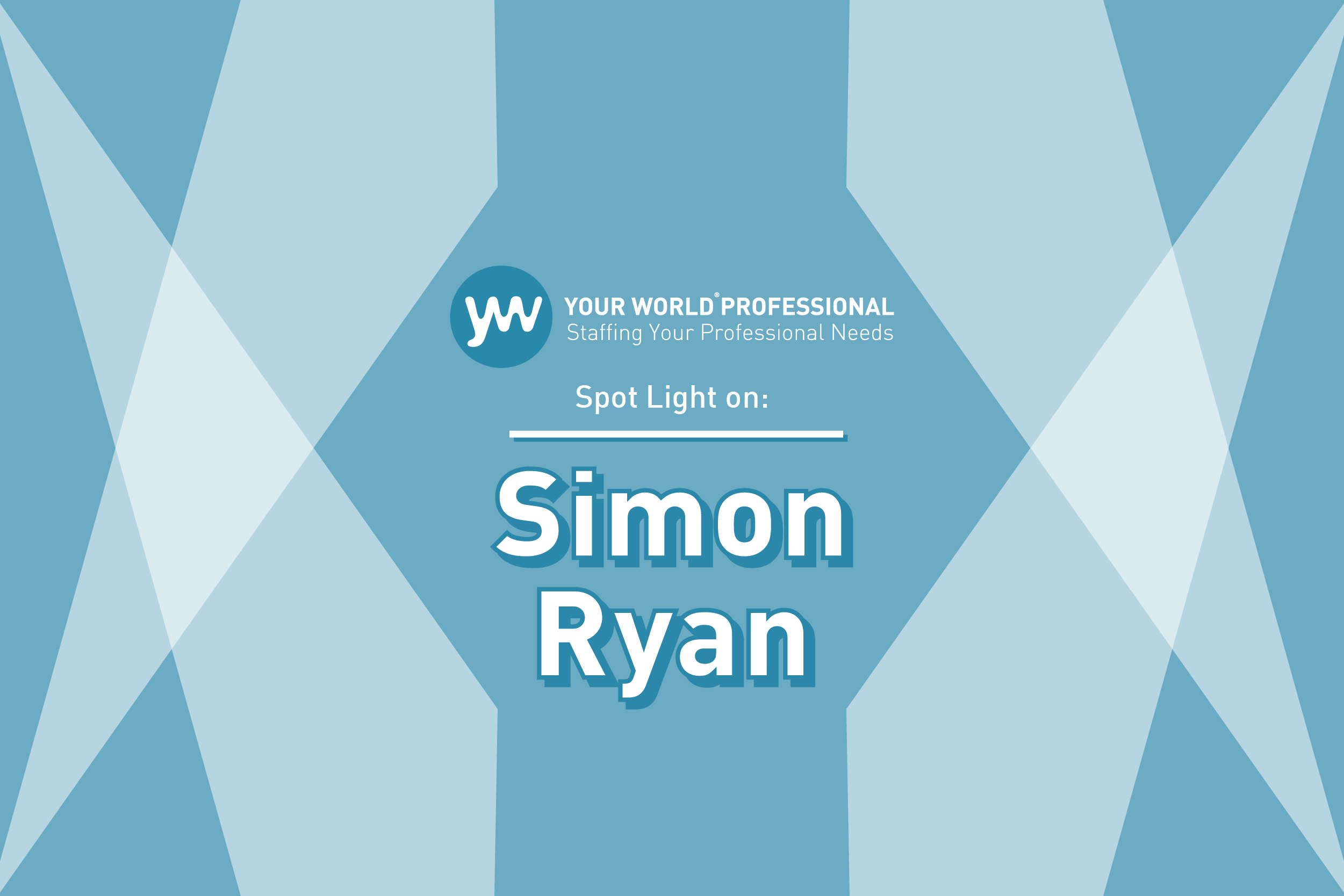 SPOTLIGHT ON...Simon Ryan